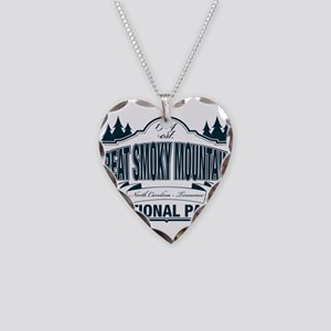Great Smoky Mountains National Park Necklace Heart